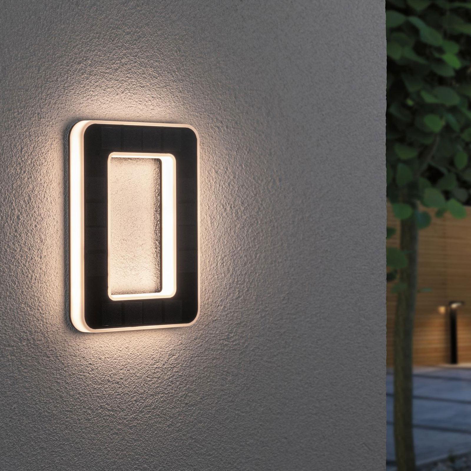 Paulmann lampada LED solare numero civico 0 Offerte e sconti