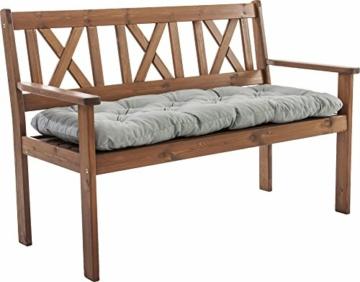 Ambientehome–Cuscino, Modello: EVJE, ca 120x 50x 8cm, Cuscino per Panca da 2 posti - 3