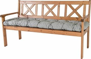 Ambientehome–Cuscino, Modello: EVJE, ca 120x 50x 8cm, Cuscino per Panca da 2 posti - 4