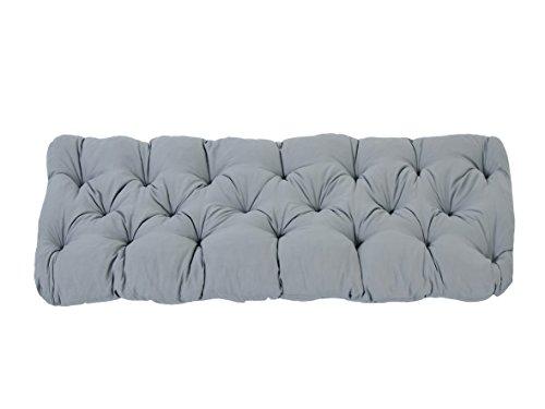 Ambientehome–Cuscino, Modello: EVJE, ca 120x 50x 8cm, Cuscino per Panca da 2 posti - 1