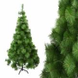 Arcoiris® Albero di Natale Artificiale Agrifoglio, Verde Naturale, Materiale in PVC, Supporto in Metallo (150 CM, Aghi di Pino) - 1