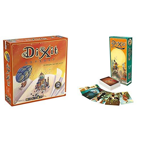 Asterion 8005 Dixit Odyssey, Edizione Italiana. Gioco di società [Nuova Versione] & Dixit 4 Origins Gioco da Tavolo Edizione Italiana, Colore, 8009 - 1
