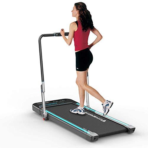 CITYSPORTS Treadmill Elettrico Tapis roulant, Tapis roulant Fitness, Macchina da Passeggio da Jogging con Monitor LCD, Tapis roulant Portatile per Uso casa/Ufficio - 1