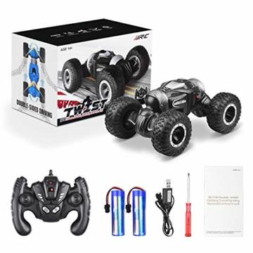 ETEPON Macchina Telecomandata, 2.4Ghz RC Auto 4WD Stunt Car, Deformazione ad Alta velocità Macchina Radiocomandata per Bambini Giocattoli - EQ70 - 8