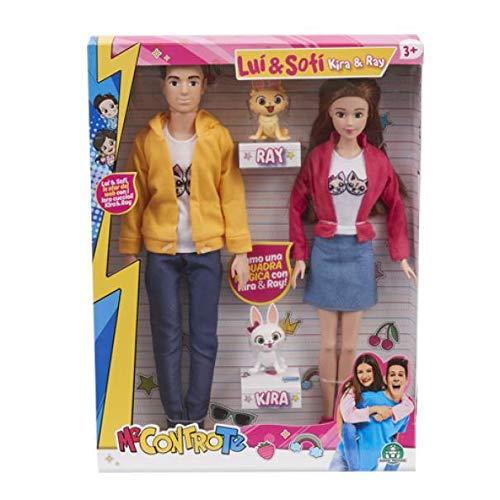 Giochi Preziosi Me Contro Te Fashion Doll Coppia con Cani - 1