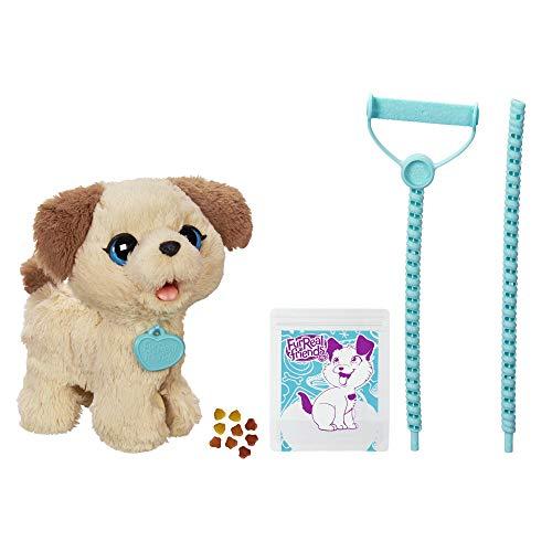 Hasbro FurReal - Pax, Il Cagnolino che fa i Bisognini, 4 anni +, C2178EU4, Bianco e Marrone - 1