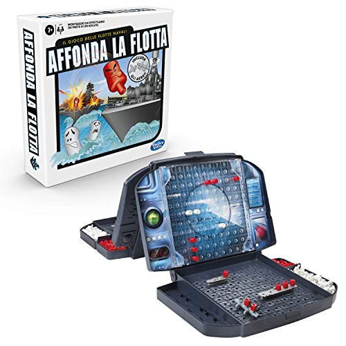 Hasbro Gaming- Affonda la Flotta con Gli Aerei Gioco di Strategia, Multicolore, C3890103 - 1
