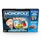 Hasbro Monopoly Super Electronic Banking (gioco in scatola con lettore elettronico Hasbro Gaming, versione in italiano) - 1