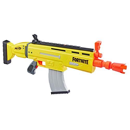Hasbro Nerf- AR-L (Blaster Scar Ufficiale con 20 dardi Nerf Fortnite), Multicolore, 6.7 x 78.7 x 33.7 cm, E6158EU4 - 1