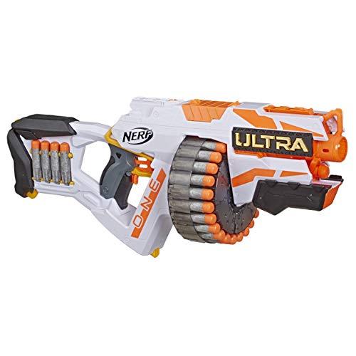 Hasbro Nerf Ultra One Blaster Motorizzato, Include 25 Dardi Nerf Ultra, Compatibile Soltanto con i Dardi Nerf Ultra - 1
