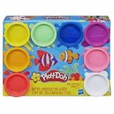Hasbro Play-Doh 8 Pack Rainbow, 8 Barattoli - 1