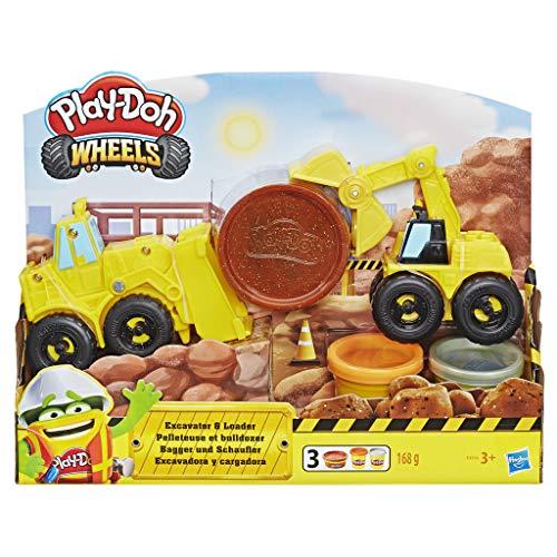 Hasbro Play-Doh-E4294EU5 Excavator N Loader, Multicolore, E4294EU4 - 1