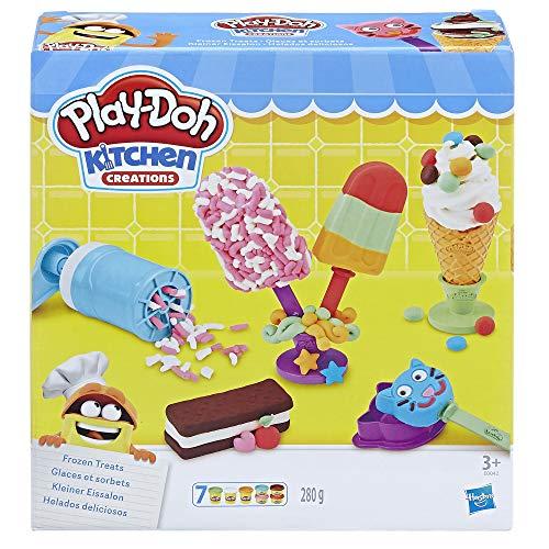 Hasbro Play-Doh- Play-Doh Gelati e Ghiaccioli, Multicolore, E0042EU4 - 1