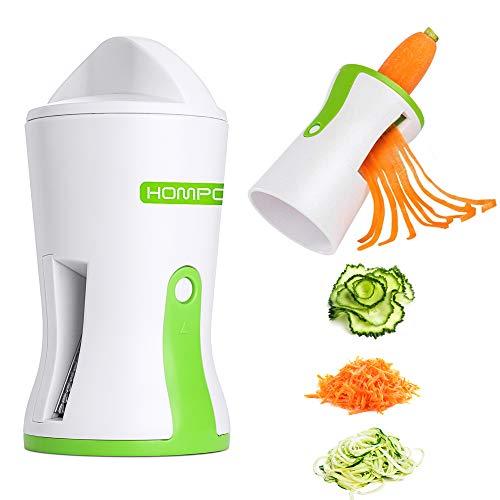 HOMPO Affettatrice a spirale, a forma di zucca e pasta, utensile da cucina - 1