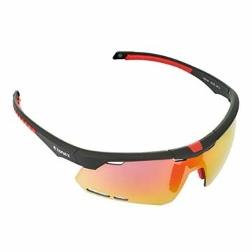 Horus X - Occhiali da Sole Sportivi - Occhiali da Sole con Protezione UV400 - Occhiali Sportivi Bici MTB Ciclismo Corsa all'Aperto - Uomo e Donna - S/M - 5