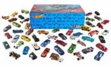 Hot Wheels Mega Confezione di 50 Macchinine con Dettagli Realistici e Decorazioni Autentiche, da Collezionare, V6697, 3 anni e più - 1