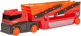 Hot Wheels- Mega Trasportatore, con 6 Livelli Espandibili, può Contenere fino a 50 Macchinine, Giocattolo per Bambini 3+ Anni, GWT37 - 1
