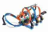 Hot Wheels- Pista Schianti Rotanti per Macchinine, Giocattolo per Bambini 4+ Anni, Multicolore, FTB65, 5 anni e più - 1
