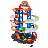 Hot Wheels - Ultimate Garage, Assalto del T-Rex Robot, con 2 Macchinine incluse, Giocattolo per Bambini 3+Anni, GJL14 - 1