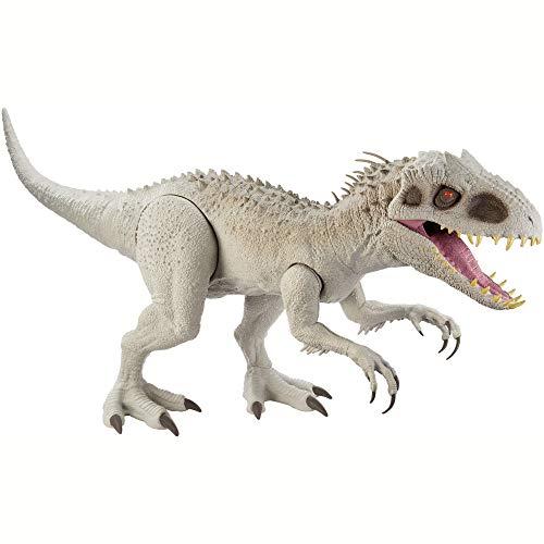 Jurassic World- Dinosauro Indominus Rex Super Colossale Giocattolo per Bambini 4+Anni, GPH95 - 1