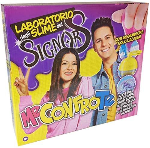 Laboratorio Kit Degli Slime Signor Me Contro Te Versione Grande con Bracciale Ciondolo Angelo + portachiave Girabrilla e penna colorata - 1