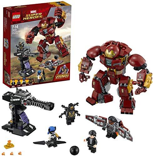 LEGO- Super Heroes Avengers Duello con l'Hulkbuster, Multicolore, 76104 - 1