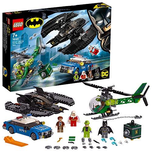 LEGO Super Heroes - Gioco per Bambini Bat Aereo di Batman e la Rapina dell'Enigmista, Multicolore, 6251457 - 1