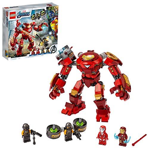 LEGO Super Heroes Iron Man Hulkbuster contro l'Agente A.I.M., Set di Costruzioni Ricco di Dettagli per Bambini +8 Anni e per i Fan Marvel Avengers, 76164 - 1
