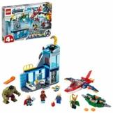 LEGO SuperHeroes Marvel L'IradiLokidegliAvengers, Serie Supereroi con le Figure di Iron Man e Hulk, 76152 - 1