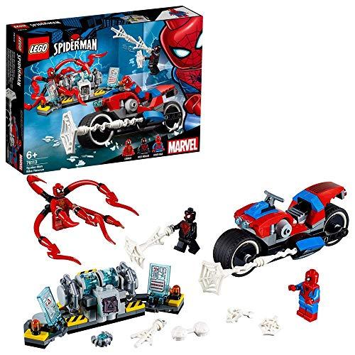 LEGO Super Heroes - Salvataggio sulla Moto di Spider-Man, 76113 - 1