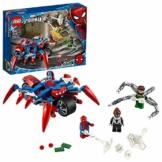 LEGO SuperHeroes Spider-Manvs.DocOck, Set da Costruzione 2in1 con Spider-Girl e la Moto, 76148 - 1