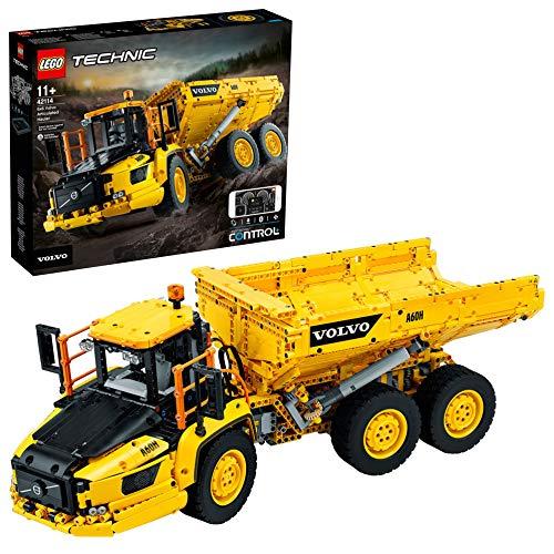 LEGO Technic 6 x 6 Volvo Camion Articolato, Auto Ribaltabile RC Volvo, Set di Costruzioni, 42114 - 1