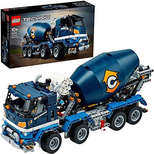 LEGO Technic Betoniera Giocattolo, Set di Costruzioni per Ragazzi +10 Anni e Appassionati di Modellismo, 42112 - 1
