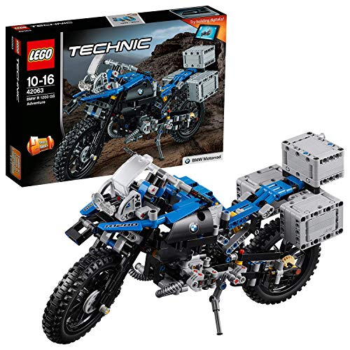 LEGO- Technic BMW R GS Adventure Costruzioni Piccole Gioco Bambina, Multicolore, 42063 - 1