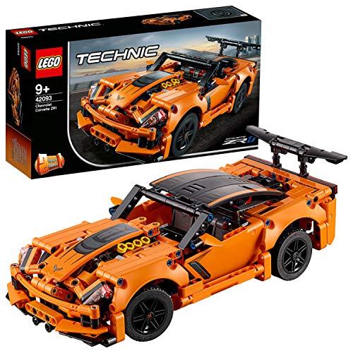 LEGO Technic ChevroletCorvetteZR1, Collezione Auto da Corsa,Replica di Macchina Hot Rod 2in1, 42093 - 1