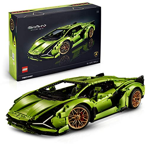 LEGO Technic Lamborghini Sián FKP 37, Set di Costruzioni per Adulti, Modello da Collezione Esclusivo, 42115 - 1