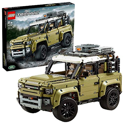 LEGO Technic LandRoverDefender, Fuoristrada 4x4,Modello Esclusivo da Collezione,Set di Costruzioni Avanzato, 42110 - 1