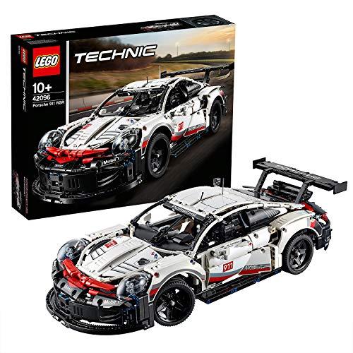 LEGO Technic Porsche911RSR, Auto da Corsa,Set di Costruzioni Avanzato,Modello da Collezione per Ragazzi e Veri Appassionati di Automobili e Motori, 42096 - 1
