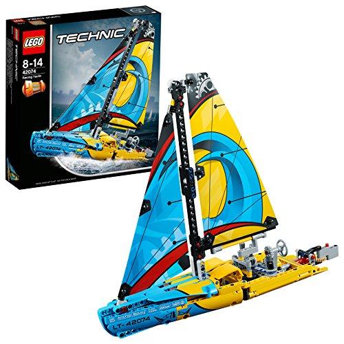 LEGO- Technic Yacht da Gara, Multicolore, 42074 - 1