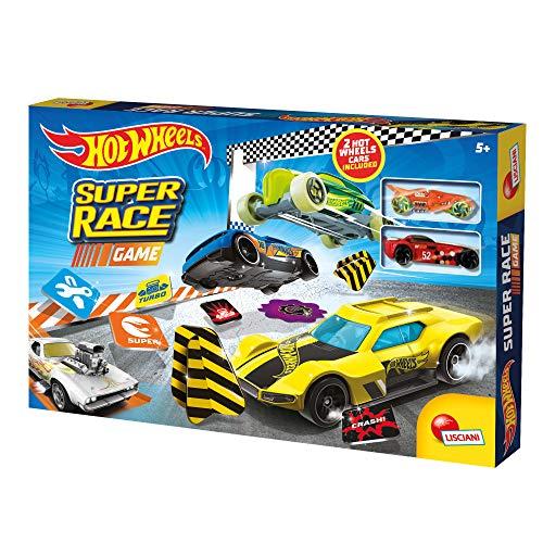 Lisciani Giochi- Hot Wheels Super Race Game, 84401 - 1