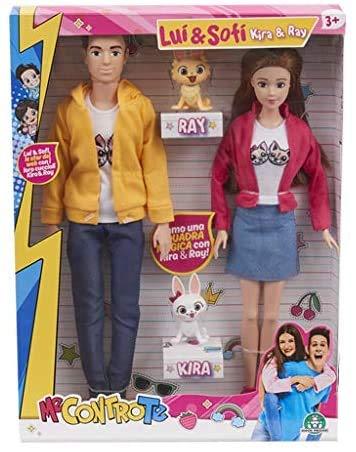 Me Contro Te Fashion Doll Lui e Sofi + Coppia di Cani Kira e Ray - 1