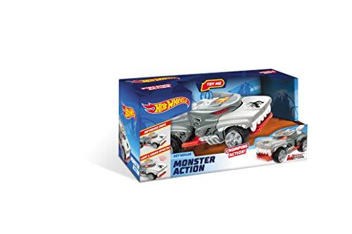 Mondo Motors - Hot Wheels Monster Action Monster Action HOTWEILER - macchina a frizione per bambini - luci e suoni - 51221 - 1