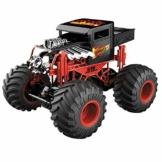 Mondo Motors - Hot Wheels Monster Trucks BONE SHAKER - Kit Battery Pack incluso - macchina telecomandata per bambini - Colore Rosso/Nero - 63648 - 1