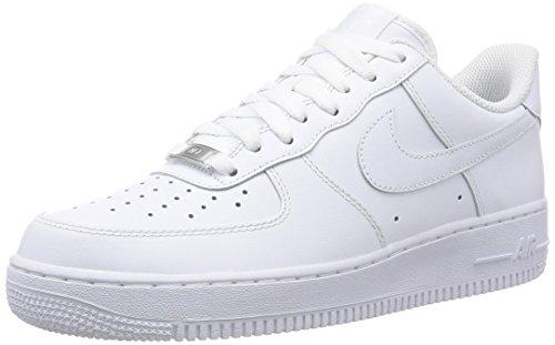 Nike Air Force 1 07, Scarpe da Ginnastica Uomo, Bianco, 43 - 1