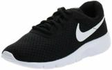 Nike Nike Tanjun (GS), Scarpe Running Bambino, Multicolore (Black/White/White), 38 EU - 1