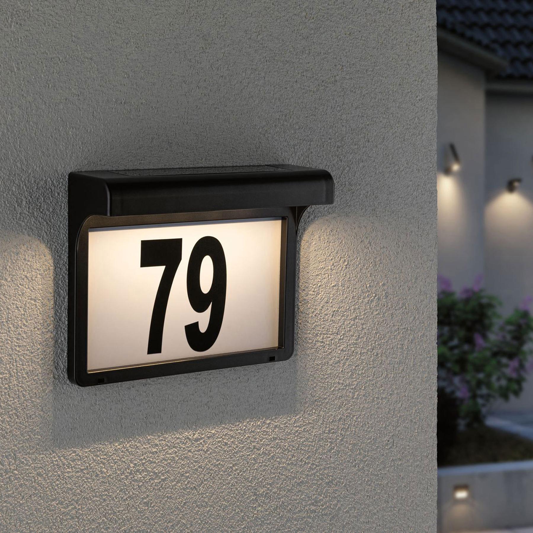 Dove acquistare Paulmann Dayton lampada LED solare numero civico