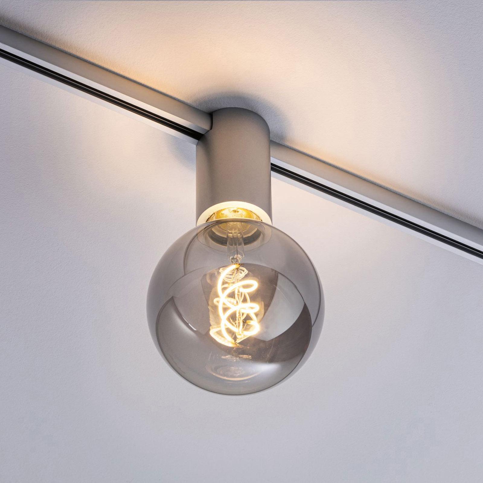 Paulmann URail Ceiling Socket E27, cromo satinato Offerte e sconti