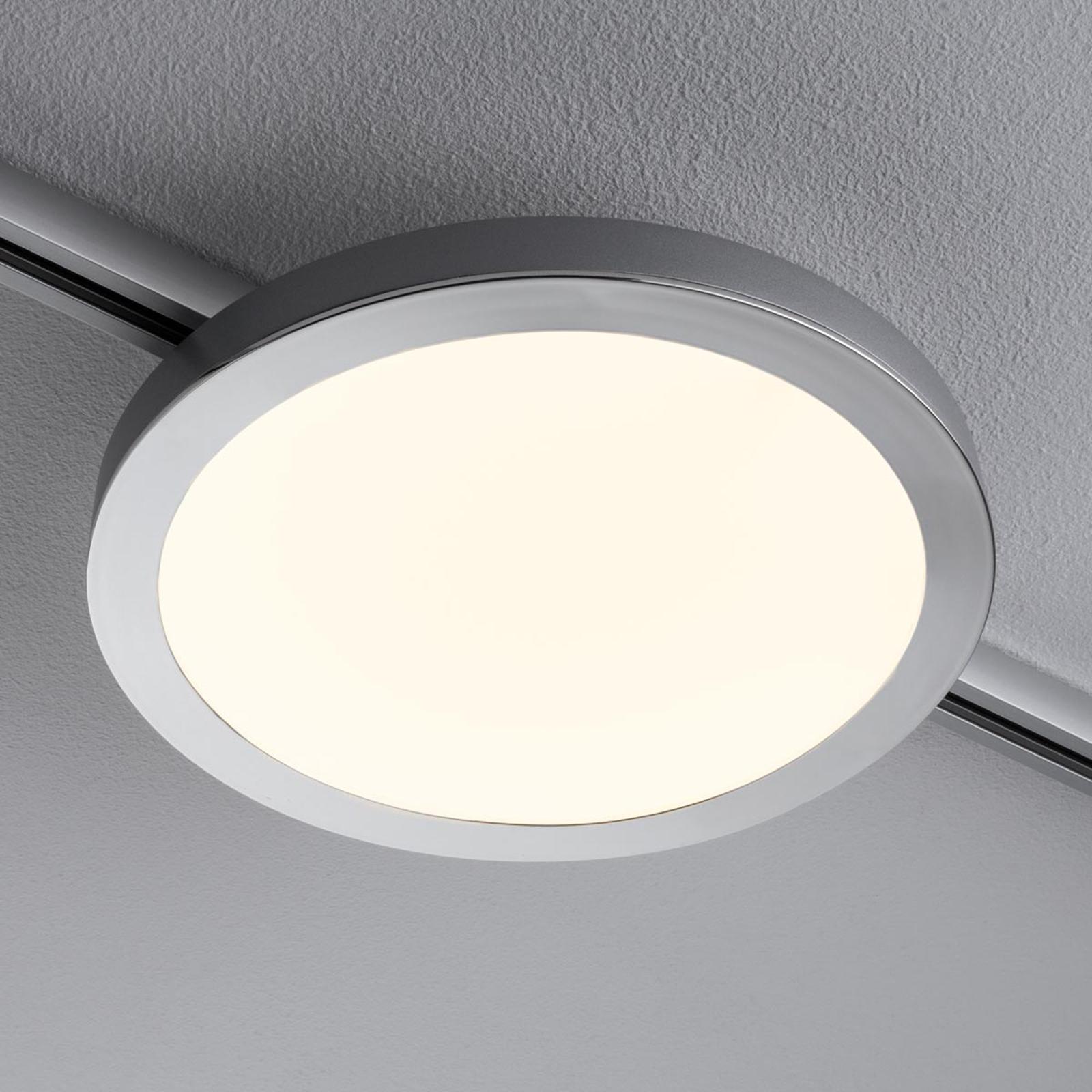 Paulmann URail Spin pannello LED cromo opaco Illuminazione per interni