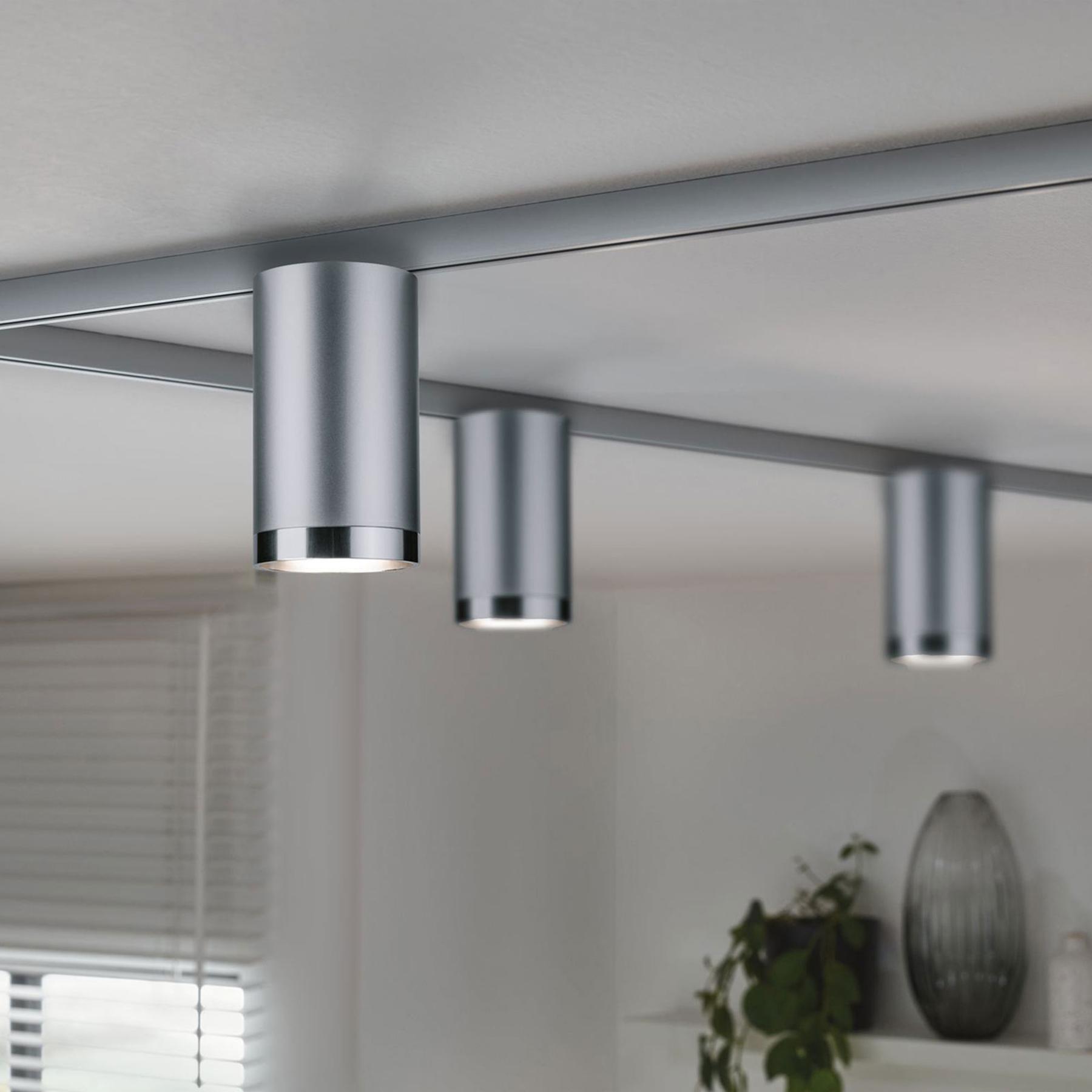 Paulmann URail Spot Tube cromo satinato Illuminazione per interni