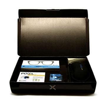 Pixel Gaming Pack, Soluzione per Il Gamer: Minor Stanchezza e Affaticamento, Protezione Occhi Grazie a Occhiali con Filtro Luce Blu e Raggi UV, Poggiapolso Ergonomico, Integratore Occhi. novità!! - 4